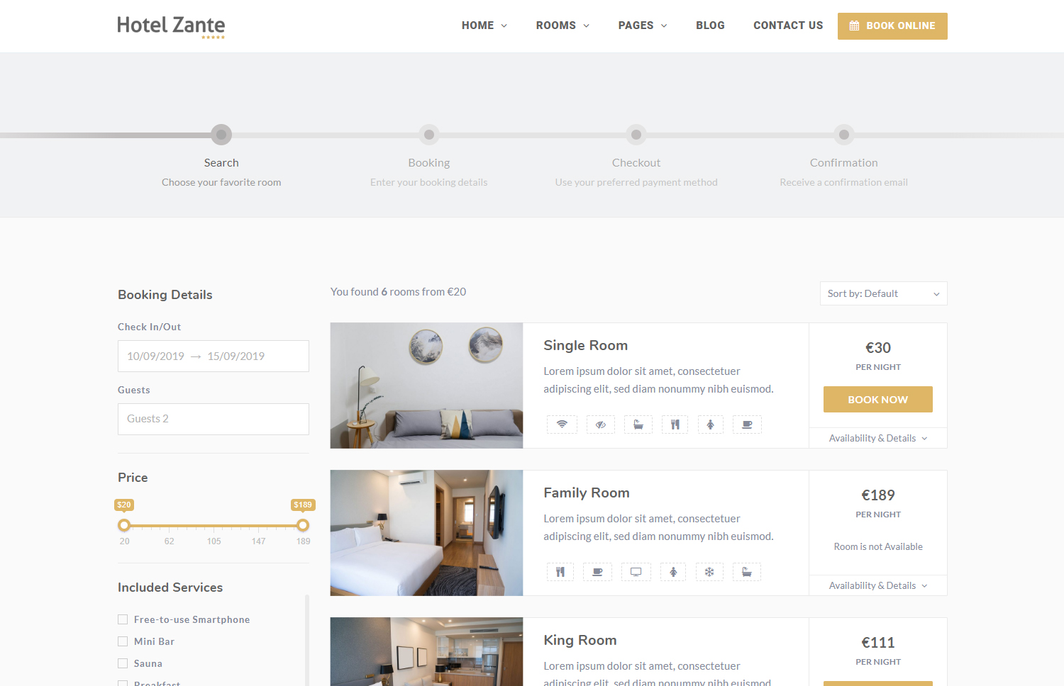 Eagle Booking - Hotel Booking WordPress Plugin