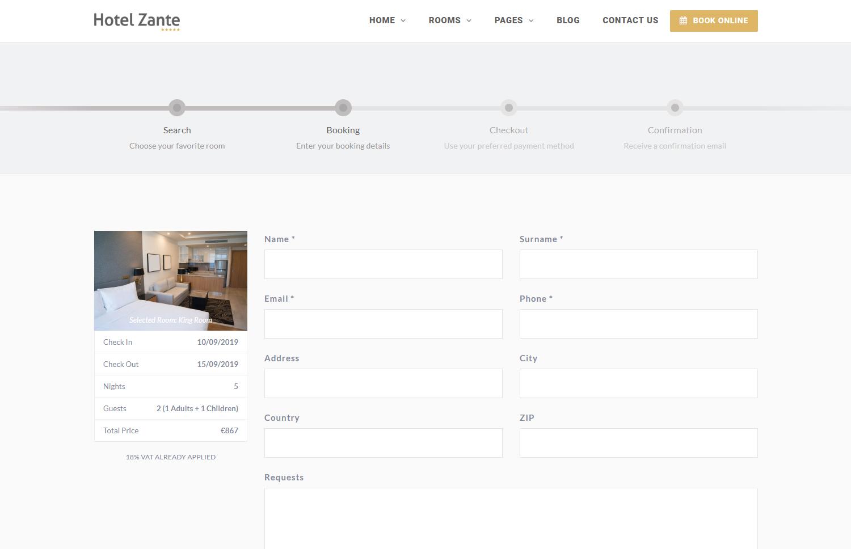 Eagle Booking - Hotel Booking WordPress Plugin